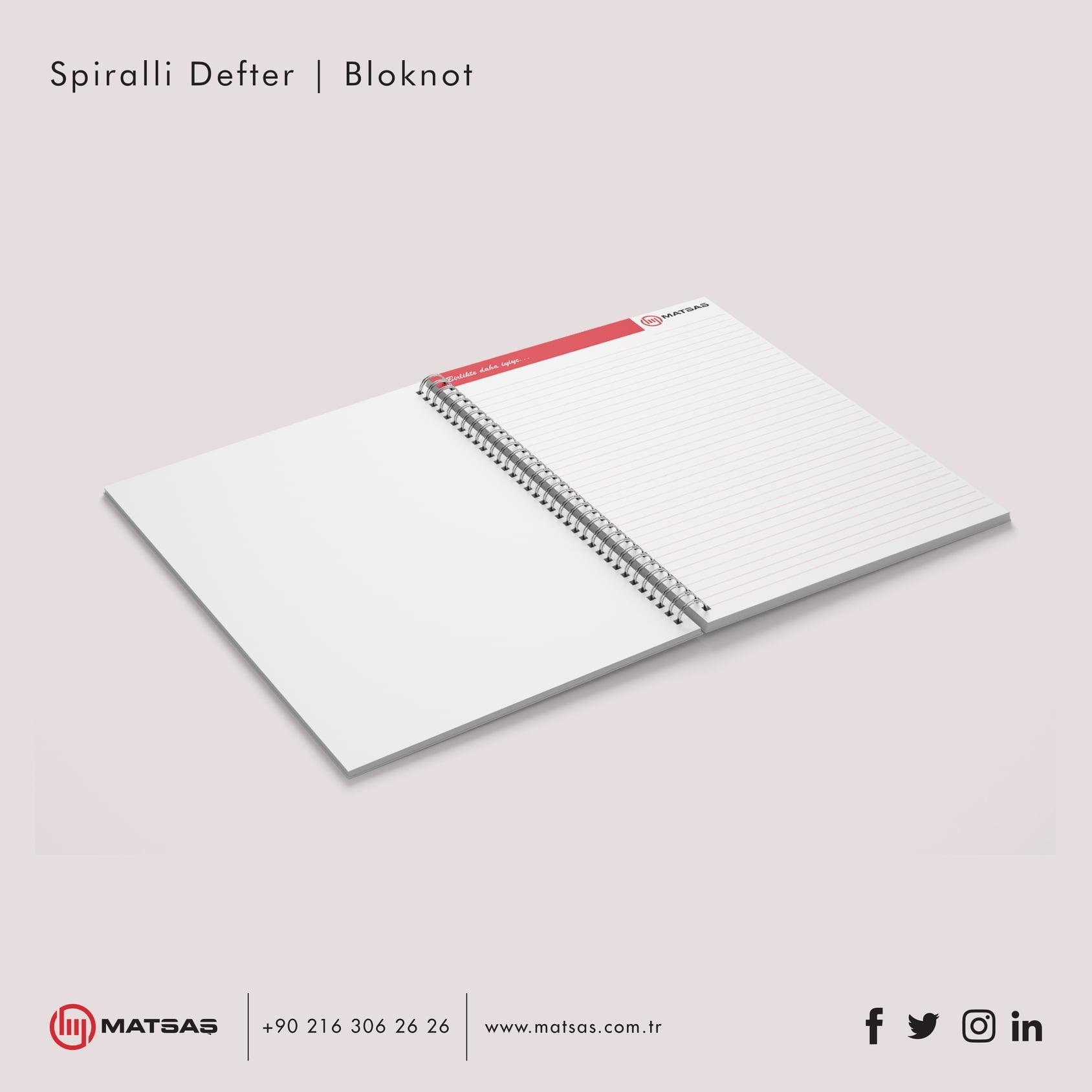 Spiraled Notebook