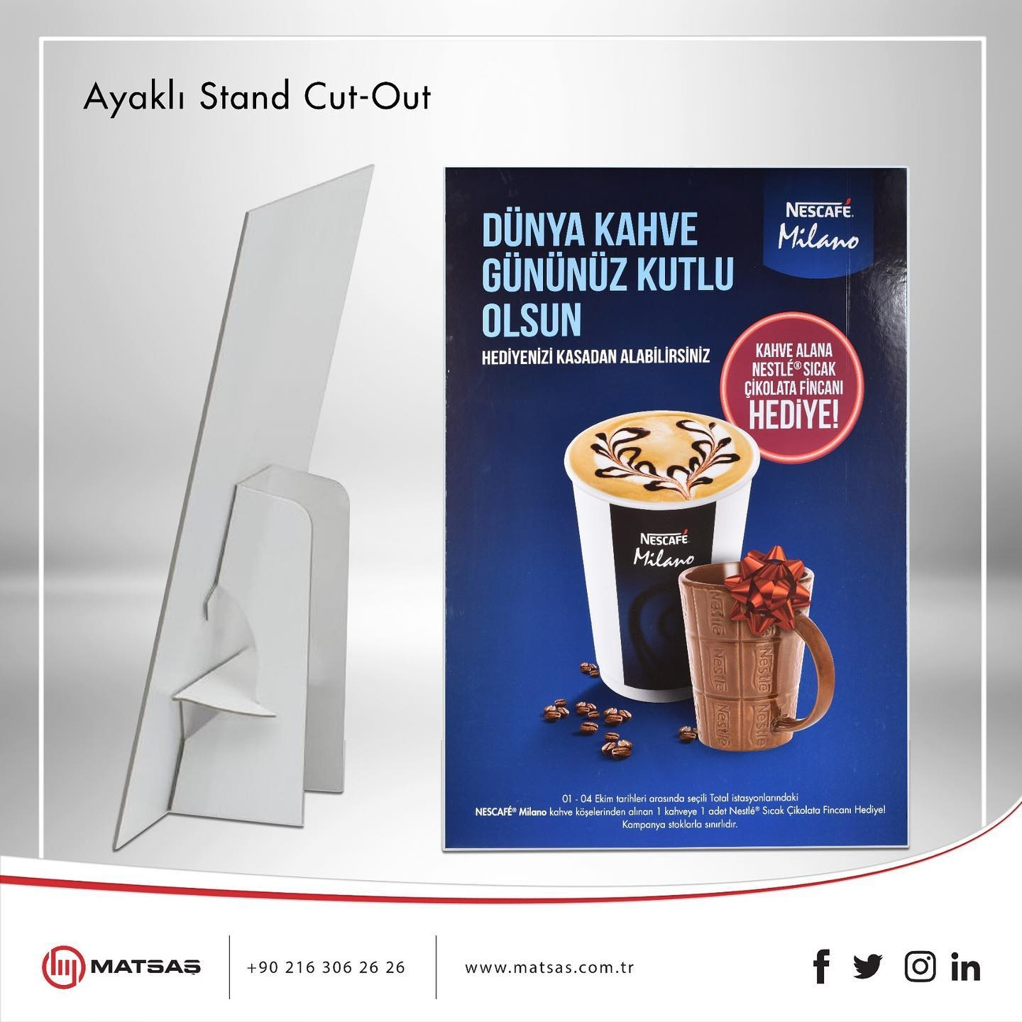 Ayaklı Stand Cut-Out