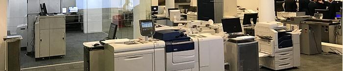 Xerox iGen5; Innovation Centre Londra
