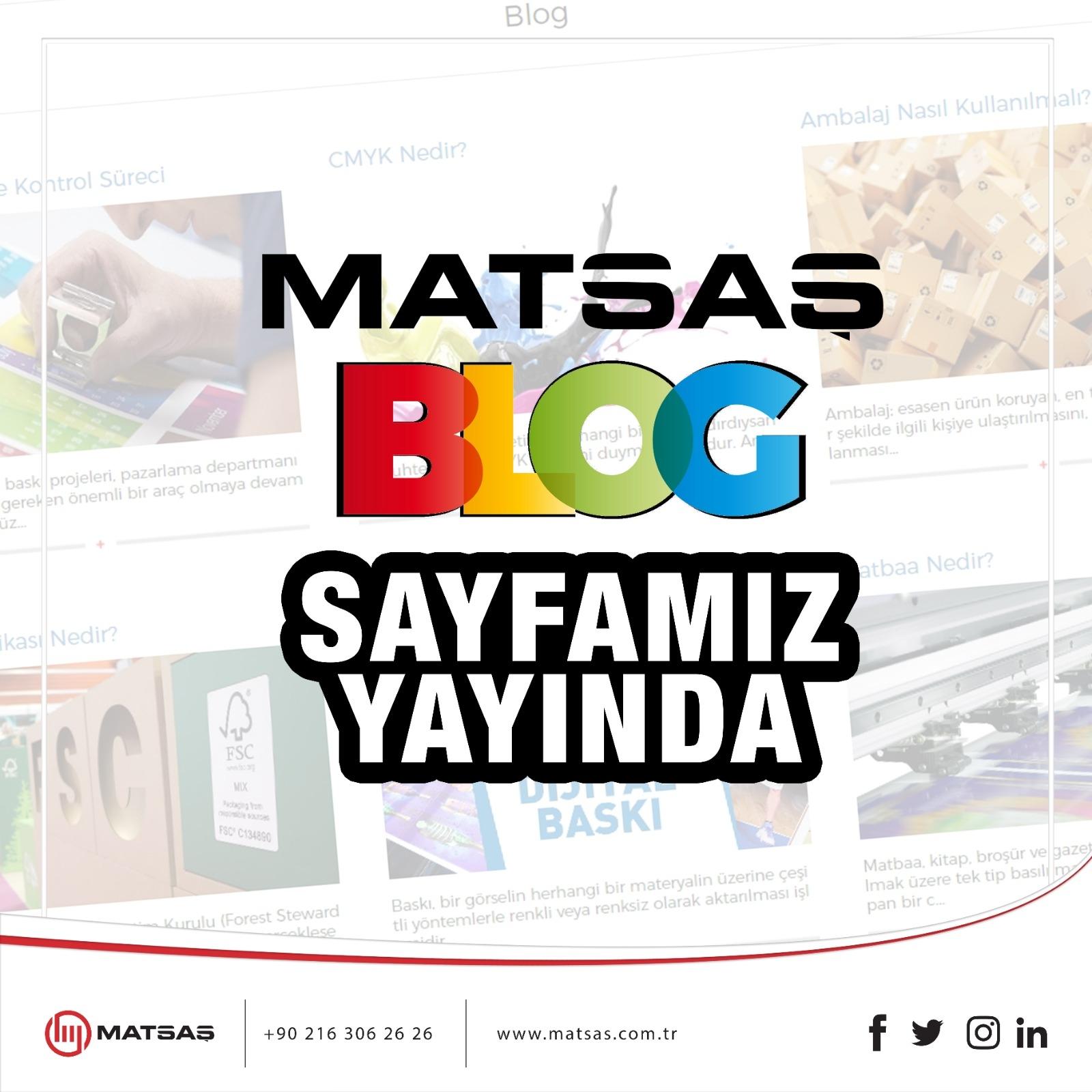 Matsaş Blog is Online
