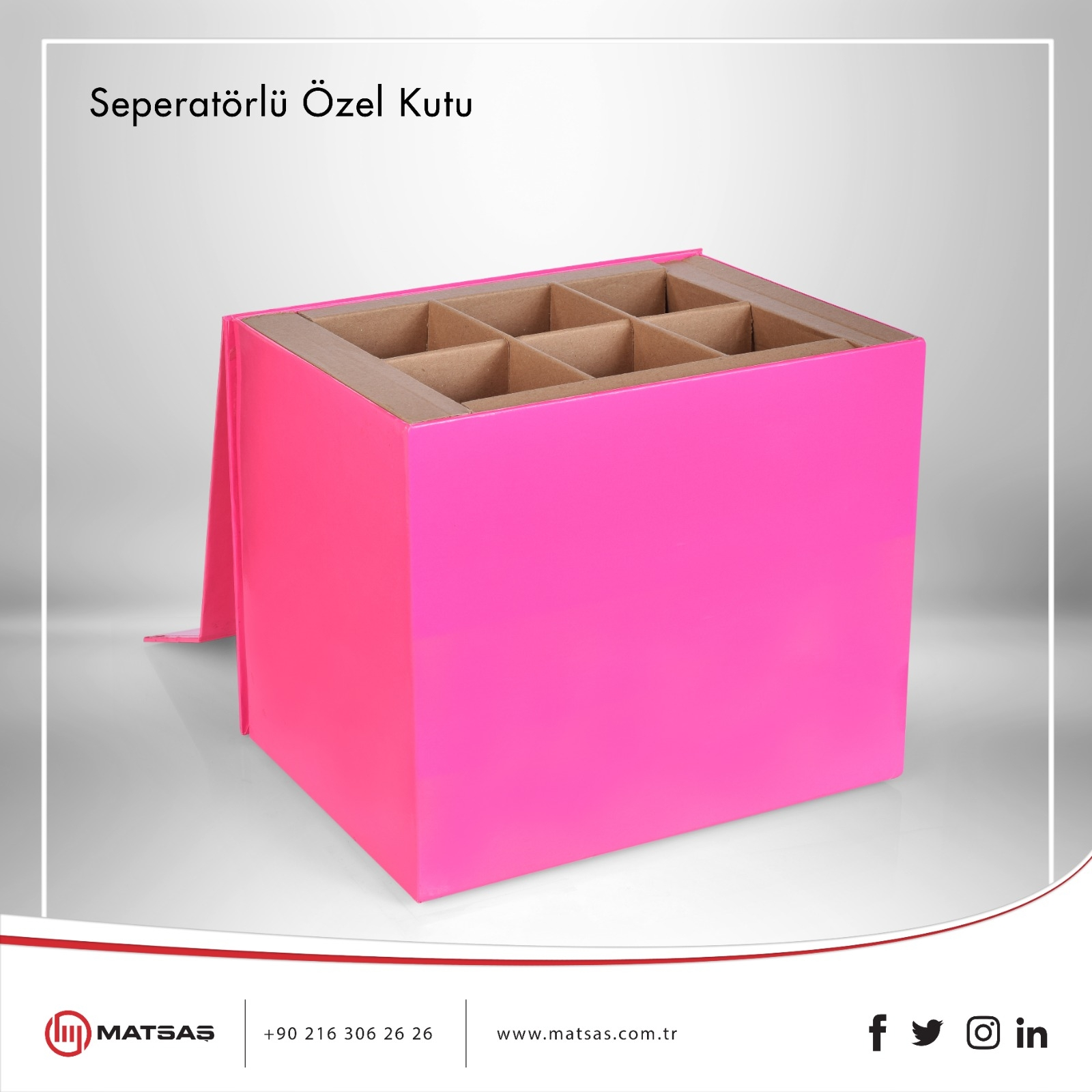 Special Box with Seperator